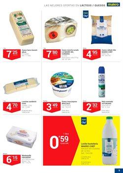 Ofertas de Lácteos  en el folleto de Makro en Madrid