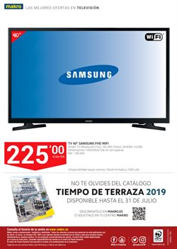 Ofertas de Televisores  en el folleto de Makro en Granollers