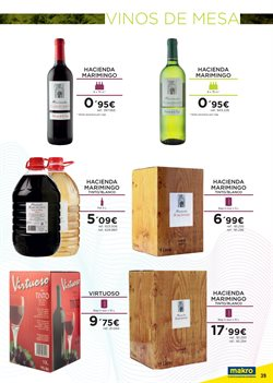 Ofertas de Vino  en el folleto de Makro en Santa Cruz de Tenerife
