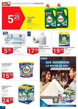 Ofertas de Detergente lavavajillas  en el folleto de Makro en Mijas