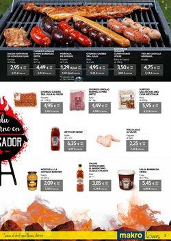 Ofertas de Salsa barbacoa  en el folleto de Makro en Madrid