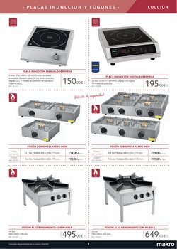 Ofertas de Cocina industrial en Makro