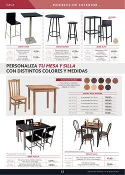 Ofertas de Conjunto mesa y sillas en Makro