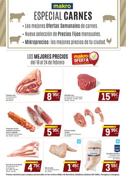 Catálogo Makro en Barcelona ( 2 días más )
