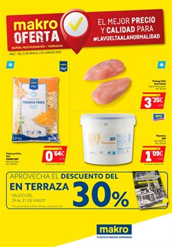 Ofertas de Hiper-Supermercados en el catálogo de Makro en Villajoyosa ( 7 días más )