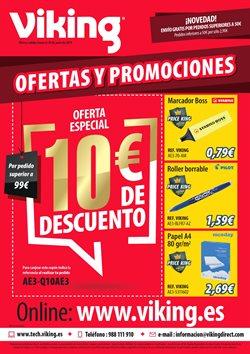 Ofertas de Libros y papelerías  en el folleto de Viking en Zamora