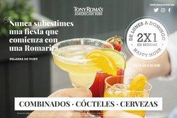 Ofertas de Restauración en el catálogo de Tony Roma's ( 5 días más)