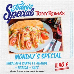 Ofertas de Tony Roma's  en el folleto de Madrid