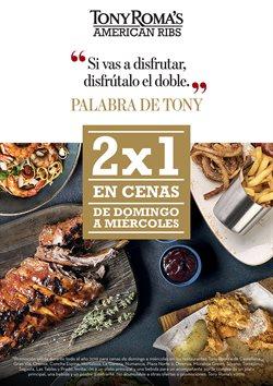 Ofertas de Tony Roma's  en el folleto de Rivas-Vaciamadrid