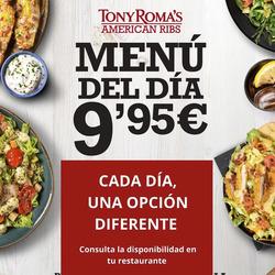 Cupón Tony Roma's en Alcobendas ( Publicado ayer )