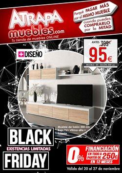 Ofertas de Black Friday  en el folleto de Atrapamuebles en Madrid