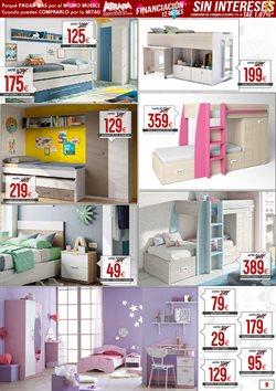 Ofertas de Dormitorio juvenil  en el folleto de Atrapamuebles en Madrid
