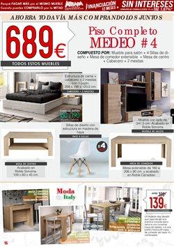 Ofertas de Mesa  en el folleto de Atrapamuebles en Madrid