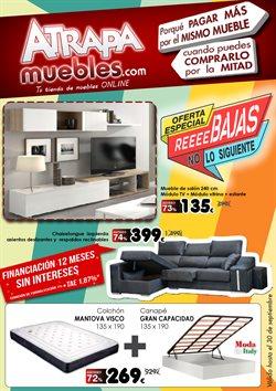 Ofertas de Rebajas  en el folleto de Atrapamuebles en Madrid