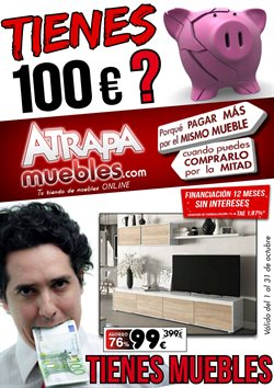 Ofertas de Atrapamuebles  en el folleto de Madrid