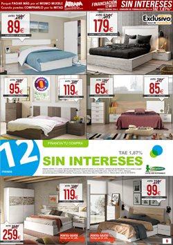 Ofertas de Cabecero  en el folleto de Atrapamuebles en Madrid