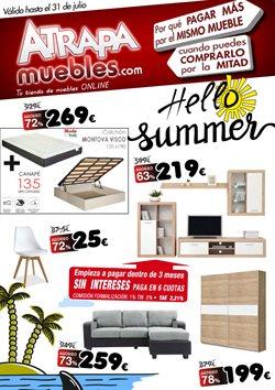 Ofertas de Hogar y muebles  en el folleto de Atrapamuebles en Barakaldo
