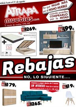 Ofertas de Hogar y muebles  en el folleto de Atrapamuebles en Paterna