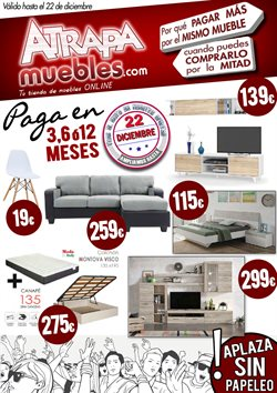 Ofertas de Hogar y muebles  en el folleto de Atrapamuebles en Sant Vicenç dels Horts