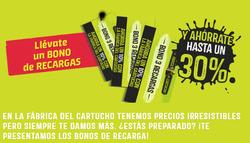 Ofertas de La Fábrica Del Cartucho  en el folleto de Barcelona