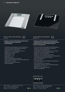 Ofertas de Báscula de baño  en el folleto de AEG en Madrid