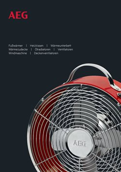Ofertas de Ventilador de pared  en el folleto de AEG en Madrid