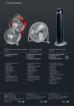 Ofertas de Ventilador torre  en el folleto de AEG en Madrid