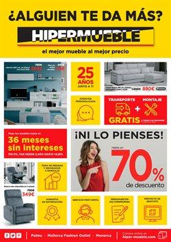 Ofertas de Hipermueble  en el folleto de Palma de Mallorca