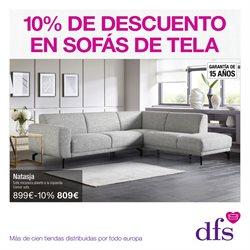 Ofertas de Hiper-Supermercados  en el folleto de DFS Furniture en Almoradí