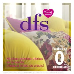 Ofertas de Hogar y Muebles en el catálogo de DFS Furniture en Orihuela ( Publicado ayer )