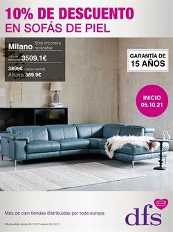 Ofertas de Hogar y Muebles en el catálogo de DFS Furniture ( 3 días más)