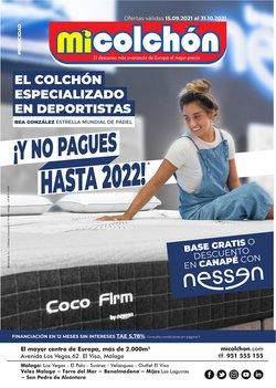 Catálogo Mi Colchón ( 15 días más)