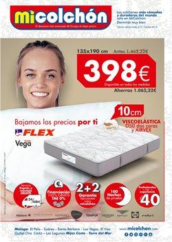Ofertas de Mi Colchón  en el folleto de Madrid