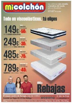 Catálogo Mi Colchón en Málaga ( 13 días más )