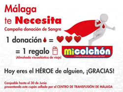 Ofertas de Mi Colchón  en el folleto de Málaga