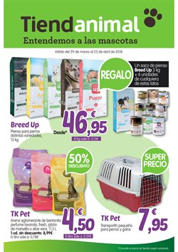 Ofertas de Hiper-Supermercados  en el folleto de TiendAnimal en Alcalá de Henares
