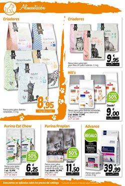 Ofertas de Comida para gatos  en el folleto de TiendAnimal en Madrid