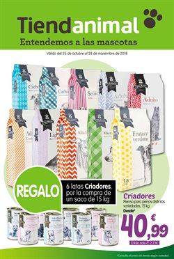 Ofertas de TiendAnimal  en el folleto de Madrid