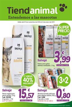 Ofertas de Hiper-Supermercados  en el folleto de TiendAnimal en Palma de Mallorca