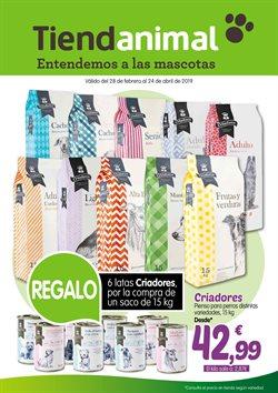 Ofertas de Comida para perros  en el folleto de TiendAnimal en Madrid