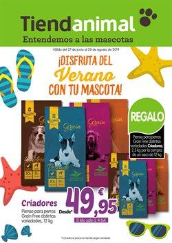 Ofertas de TiendAnimal  en el folleto de Zaragoza