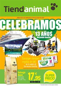 Ofertas de Hiper-Supermercados  en el folleto de TiendAnimal en Almoradí