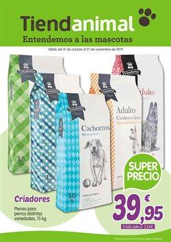 Ofertas de Hiper-Supermercados  en el folleto de TiendAnimal en Lugones