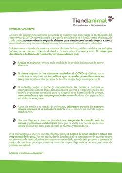 Ofertas de Hiper-Supermercados en el catálogo de TiendAnimal en Laracha ( Caduca hoy )