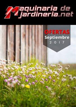 Ofertas de Jardín y bricolaje  en el folleto de Maquinariadejardineria.net en Madrid