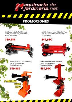 Ofertas de Estufa insert  en el folleto de Maquinariadejardineria.net en Madrid