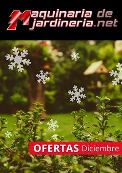 Ofertas de Maquinariadejardineria.net  en el folleto de Burgos