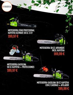 Ofertas de Ryobi  en el folleto de Maquinariadejardineria.net en A Coruña