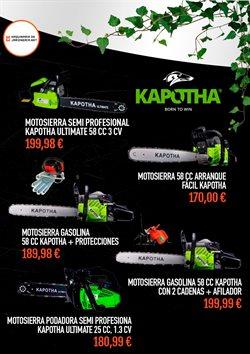 Ofertas de Herramientas  en el folleto de Maquinariadejardineria.net en Madrid