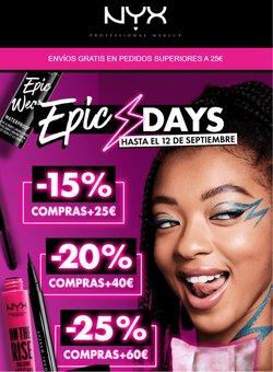 Ofertas de NYX Cosmetics en el catálogo de NYX Cosmetics ( Caducado)